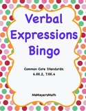 Verbal Expressions Bingo