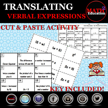 Verbal Expressions - Translating Verbal Expressions Matching Activity