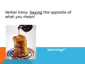 Verbal Irony: Sarcasm, Hyperbole, and Understatement