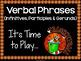Verbal Phrases Bundle