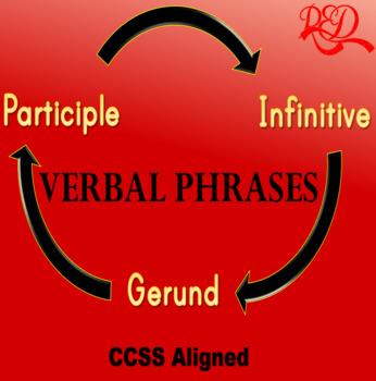Verbal Phrases ❘ Grammar and Assessment Worksheet Pack