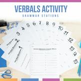 Verbals Stations: Gerund, Infinitives, Participles
