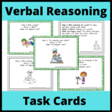Verbal Reasoning, Inferences, and Predictions Task Cards f