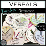 Verbals, Gerunds, Participles and Infinitives - manipulative