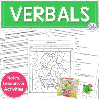 Verbals Lessons and Activities