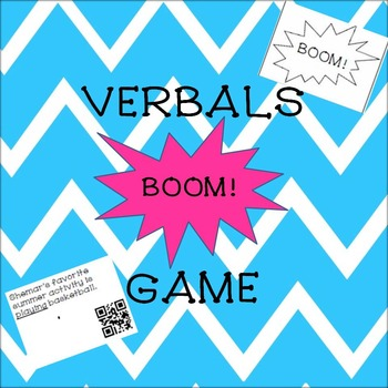 Verbals BOOM! Game with QR Codes