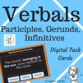 Verbals Boom Cards Distance Learning