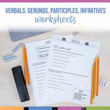 Verbals Practice Workbook: Gerunds, Participles, Infinitives