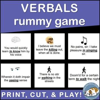 Verbals Rummy Game