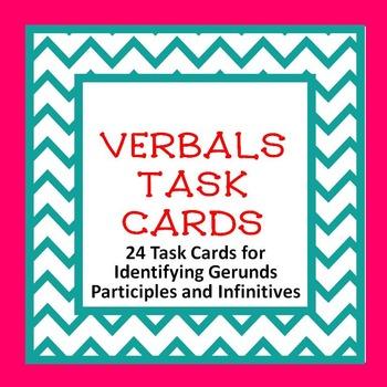 Verbals TASK CARDS