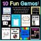 Verbals Task Card Bundle ~ Gerunds, Infinitives, Participles! Plus 10 Fun Games!