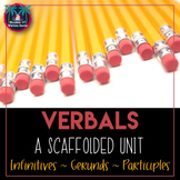 Verbals Unit Bundle: Gerunds, Participles, and Infinitives