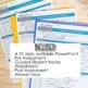 Verbals Unit: Participles, Gerunds, & Infinitives PowerPoint, Teaching Materials