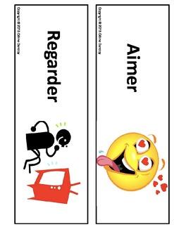 Verbe en ER - Flash cards