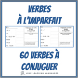 French imperfect tense - 60 French verbs to conjugate - Fr