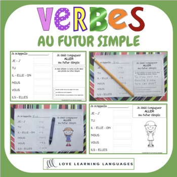 French futur simple - 60 verb conjugation charts - Primary French Immersion