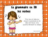"""Verbes au """"je"""" - Grammaire en 3D"""