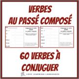 French passé composé - 60 French verbs to conjugate - Fren