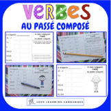 French passé composé - 60 verb conjugation charts - Primary French Immersion