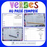French passé composé - 60 verb conjugation charts - Primar