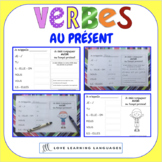French present tense - 60 verb conjugation charts - Primar