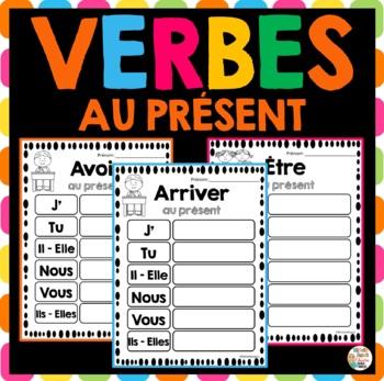 Verbes au présent   -   French verbs