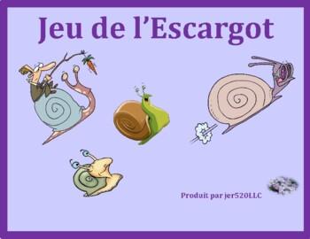 Verbes réfléchis (French Reflexive verbs) Escargot Snail game
