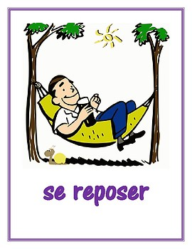 Verbes réfléchis (French Reflexive verbs) Posters