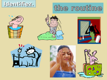 Verbes réfléchis (French Reflexive verbs) Vocabulary PowerPoint