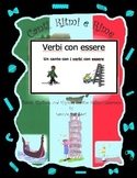 "Italian "" Essere"" Verbs with This Rap-like Chant and MP3 (Verbi con Essere )"