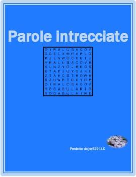 Verbi riflessivi (Italian Reflexive verbs) Differentiated Wordsearch