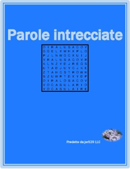 Verbi riflessivi (Italian Reflexive verbs) Differentiated Wordsearch