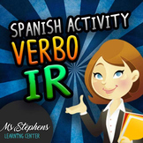 Verbo IR - Easy ready to go class activity reviewing IR (g