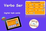 Verbo Ser. Boom Cards. Distance Learning