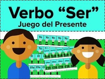 """Verbo """"Ser"""" Juego del Presente"""