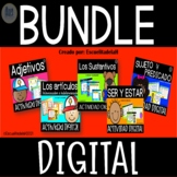 Verbo Ser y mas - Google Slides ™ - BUNDLE