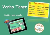 Verbo Tener. Boom Cards. Distance Learning