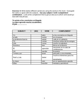 Verbos ER e IR    (revision)