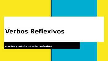 Verbos Reflexivos PowerPoint