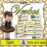 Verbos- Spanish Word Wall Verbs