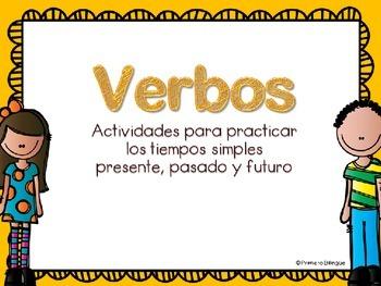 Verbos actividades