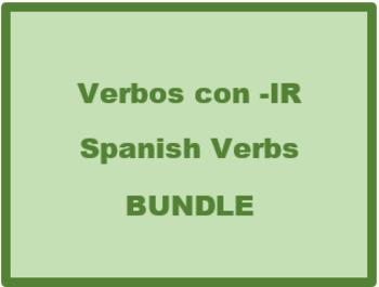 IR Verbs in Spanish Verbos IR Bundle