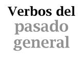Verbos del imperfecto / Spanish verb wall