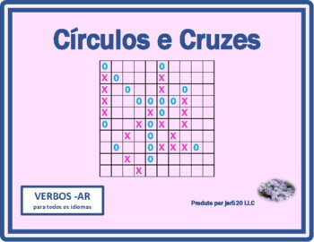 Verbos em AR (AR verbs in Portuguese) Mega Connect 4 game
