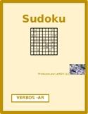 AR verbs in Spanish Verbos con AR Sudoku