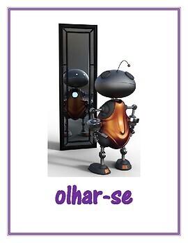 Verbos reflexivos (Portuguese Reflexive verbs) Posters