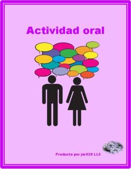 Verbos reflexivos (Spanish Reflexive verbs) Partner puzzle Speaking activity