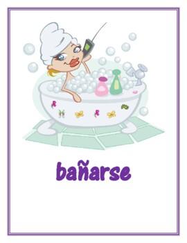 Verbos reflexivos (Spanish Reflexive verbs) Posters