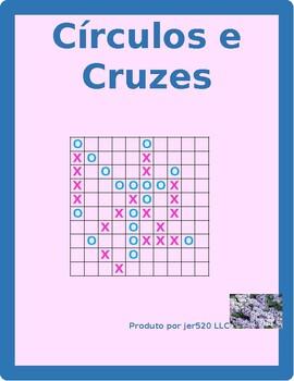 Portuguese Regular verbs Connect 4 game