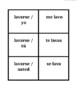 Verbos reflexivos (Reflexive verbs in Spanish) Concentration games
